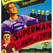 Superman And The Mole-men, Aka Superman Art Print