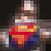 Superman Art Print