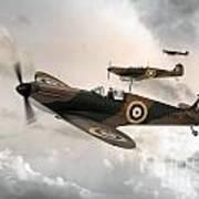 Supermarine Spitfire Mk I Art Print