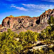 Superstition Mountain Arizona Art Print