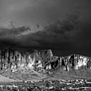 Superstition Mountain Art Print by Maxwell Amaro