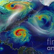 Superstorm Sandy Art Print