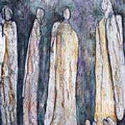 Supplication Art Print by Nancy Smith