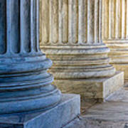 Supreme Court Colunms Art Print