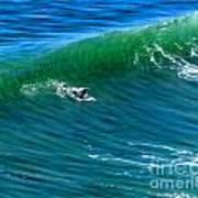 Surf 1 Take Off Art Print