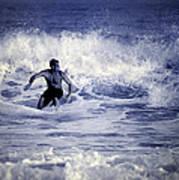Surf At Summer Art Print