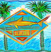 Surf Crest Art Print