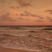 Surf - Florida Art Print by Sandy Keeton
