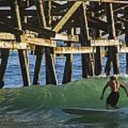 Surfer Dude 1 Art Print