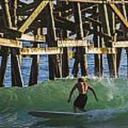Surfer Dude 3 Art Print