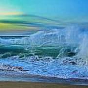 Surf's On Art Print