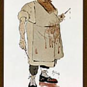 Surgeon: Caricature, 1906 Art Print