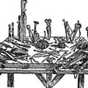 Surgical Instruments, 1567 Art Print