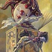 Surprise Art Print by Leonard Filgate
