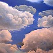 Surreal Cloud One Art Print by Paula Marsh