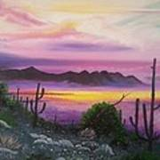 Surreal Desert II Art Print