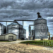 Surreal Grain Art Print