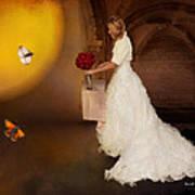Surreal Wedding Art Print