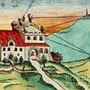 Surveying Methods, 16th Century Art Print