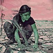 Surviving The Fallout Art Print by Absinthe Art By Michelle LeAnn Scott