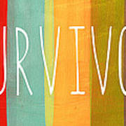 Survivor Art Print