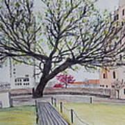 Survivor Tree Art Print