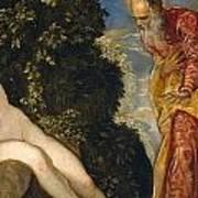 Susannah And The Elders Art Print
