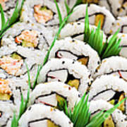 Sushi Platter Print by Elena Elisseeva