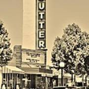 Sutter Theater Art Print