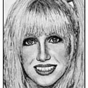 Suzanne Somers In 1977 Art Print