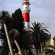 Swakopmund Lighthouse - Namibia Art Print