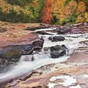 Swallow Falls Art Print