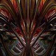 Swallowed By The Dark Fx  Art Print