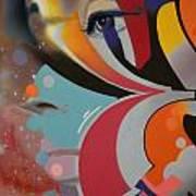 Swallowed Rainbow Art Print