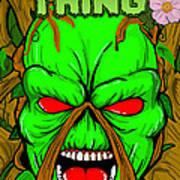 Swamp Thing Art Print by Gary Niles