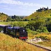 Swanage Steam Railway Art Print