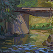 Swauk Creek Early Spring Art Print