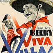 Swedish Poster #1   Viva Villa 1934-2008 Art Print