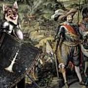 Swedish Vallhund  - Vastgotaspets Art Canvas Print Art Print