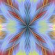 Sweeping Star Burst 1 Art Print