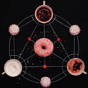 Sweet Alchemy Of Cooking Art Print