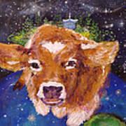 Sweet Buttercup Art Print