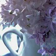 Sweet Cream Lilac Art Print
