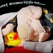 Sweet Dreams Little One Art Print