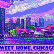 Sweet Home Chicago IIi Art Print