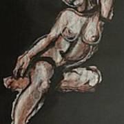 Sweet Little Mystery - Nudes Gallery Art Print