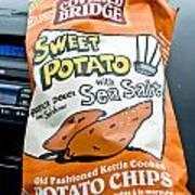 Sweet Potato Chips Art Print