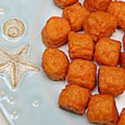 Sweet Potato Puffs Art Print