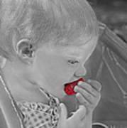 Sweet Strawberry Art Print