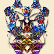 Sweet Symmetry - Flu Bugs Art Print
